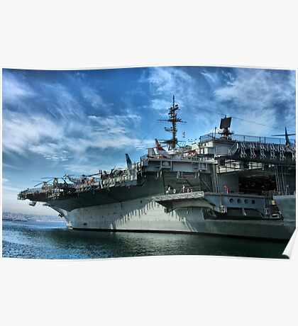 USS Midway Poster