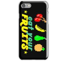 Eat Your Fruits iPhone Case/Skin