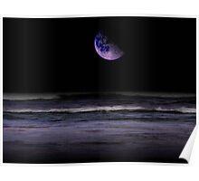 Mauve Ocean Poster