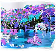 Enchanted Forest Oil Painting Poster