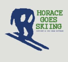 Horace Goes Skiing by Vojin Stanic