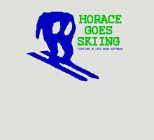Horace Goes Skiing Unisex T-Shirt