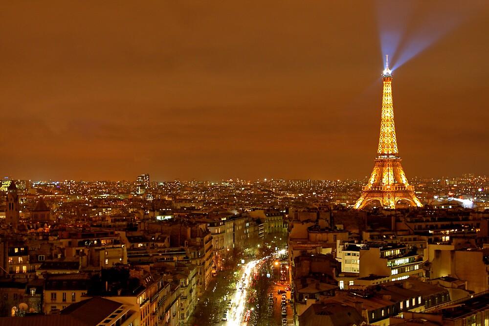 Paris at Night by David Watts