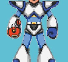 Mega Man X - Light Armor by Deezer509