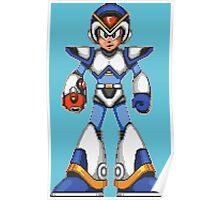 Mega Man X - Light Armor Poster