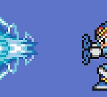 MMX Hadouken - Light Armor, Mega Man X by Deezer509