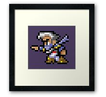 Edge - Final Fantasy IV - REGP Framed Print