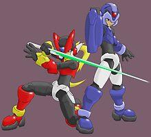 X and Zero - Maverick Hunters by Deezer509