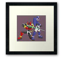 X and Zero - Maverick Hunters Framed Print
