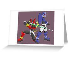 X and Zero - Maverick Hunters Greeting Card