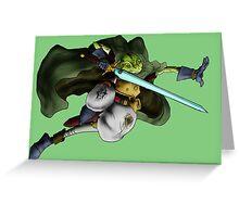 Chrono Trigger - Glenn Greeting Card