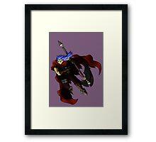 Chrono Trigger - Magus Framed Print