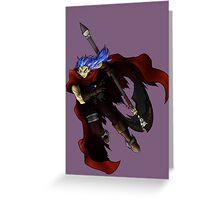 Chrono Trigger - Magus Greeting Card