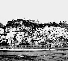 EDINBURGH CASTLE II by Chris Clark