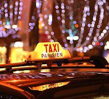 Paris Taxi by David Watts