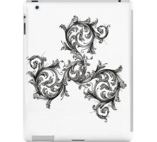 Filigree Triskele iPad Case/Skin