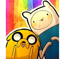 Finn&Jake Photographic Print