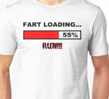 Fart Loading Run Funny Geek Nerd Unisex T-Shirt