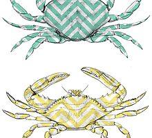 Crabs in Robe  by frasermceachern