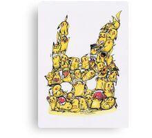 Choose a Pikachu! Canvas Print