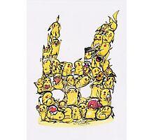 Choose a Pikachu! Photographic Print