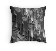 Barcelona Genius Throw Pillow