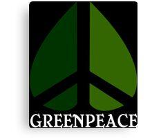 Greenpeace Funny Geek Nerd Canvas Print