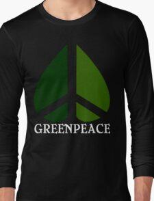 Greenpeace Funny Geek Nerd Long Sleeve T-Shirt
