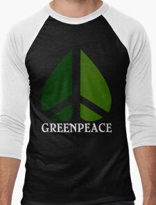 Greenpeace Funny Geek Nerd Men's Baseball ¾ T-Shirt
