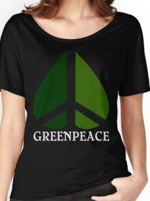 Greenpeace Funny Geek Nerd Women's Relaxed Fit T-Shirt