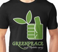 Greenpeace 100 Renewable Energy Funny Geek Nerd Unisex T-Shirt