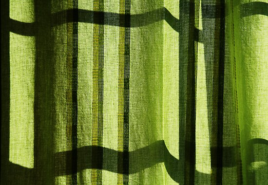 Green Abstract by Steven  Siow