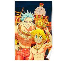 Ban & Meliodas - Seven Deadly Sins Poster