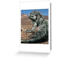 Desert Iguana Justin Beck Picture 2015096 Greeting Card