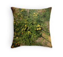 Grape Tomato Throw Pillow