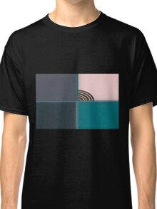 colored background texture Classic T-Shirt