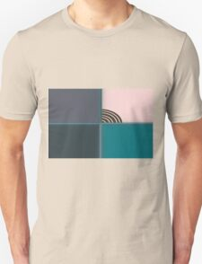 colored background texture Unisex T-Shirt