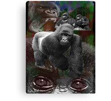 Endangered Gorillas Justin Beck Picture 2015094 Canvas Print