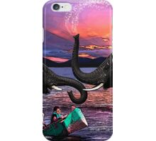 Fighting Elephants Justin Beck Picture 2015091 iPhone Case/Skin