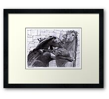 Fighting Horses Justin Beck Picture 2015092 Framed Print