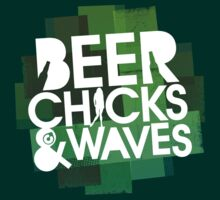 Beer Chicks and Waves III by Colorskim