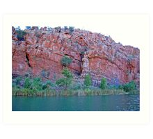 The Ord River, South of Kununurra, Western Australia (Y) Art Print