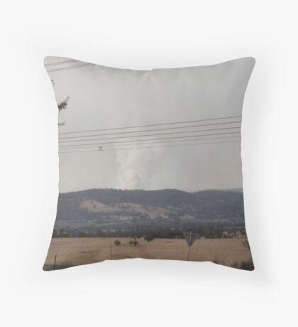 Smokey Yarra Valley 1 Throw Pillow