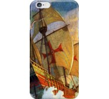 Christopher Columbus Ships iPhone Case/Skin