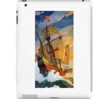 Christopher Columbus Ships iPad Case/Skin