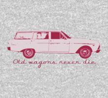 Old wagons never die One Piece - Long Sleeve
