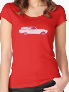 Old wagons never die Women's Fitted Scoop T-Shirt