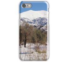Psiloritis & Olive Trees iPhone Case/Skin