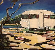Caravan at the coast ! by StelC