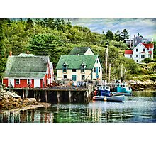 Northwest Cove, Nova Scotia Photographic Print